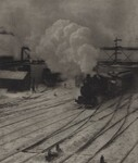 image: The Railroad Yard, Winter