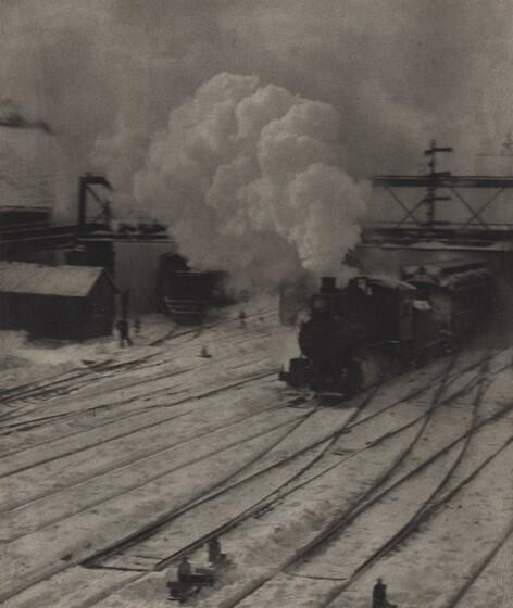 The Railroad Yard, Winter