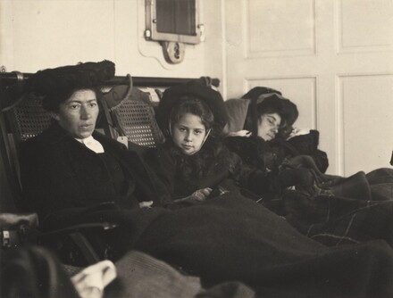 Clara Lauer, Kitty and Emmy Stieglitz