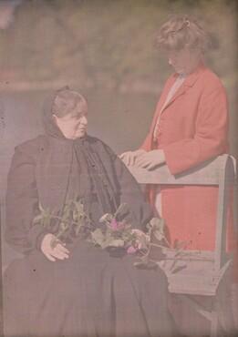 image: Hedwig Stieglitz and Agnes Engelhard