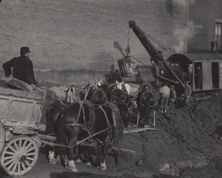 Excavating, New York