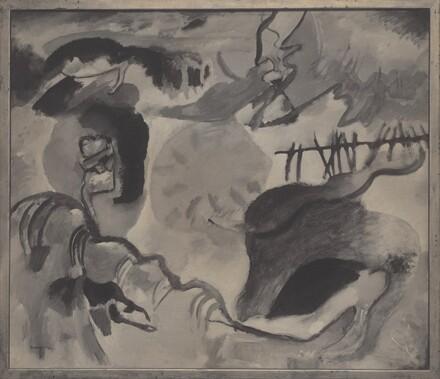 The Garden of Love (Improvisation Number 27) by Wassily Kandinsky