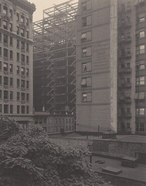 image: From the Back-Window—291—Building in Construction
