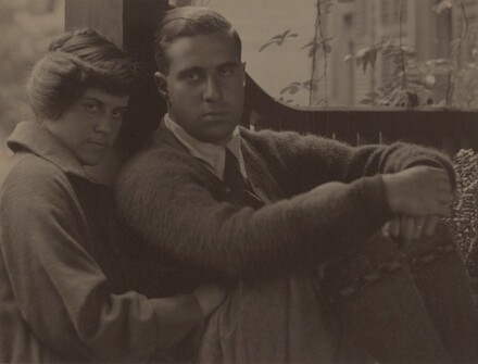 Kitty Stieglitz and Edward Stieglitz