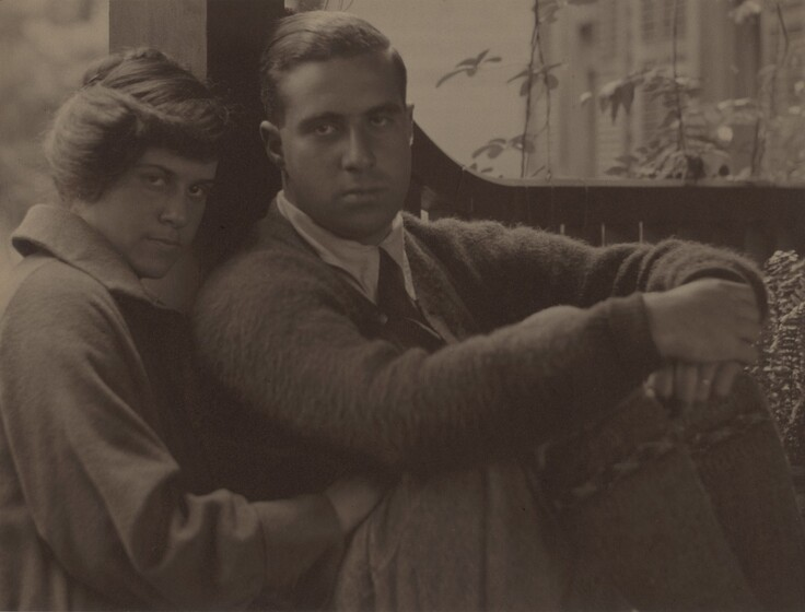 Kitty Stieglitz and Edward Stieglitz