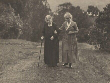 Hedwig Stieglitz and Katherine Herzig, Lake George
