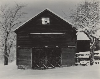 image: The Black Barn & White Snow