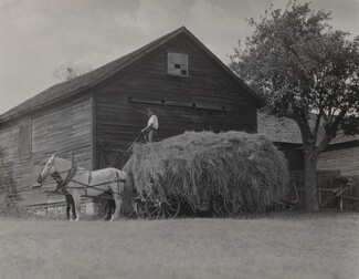 image: The Hay Wagon and Barn