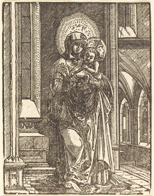 Virgin and Child in a Church