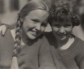 image: Elizabeth (Peggy) and Sue Davidson