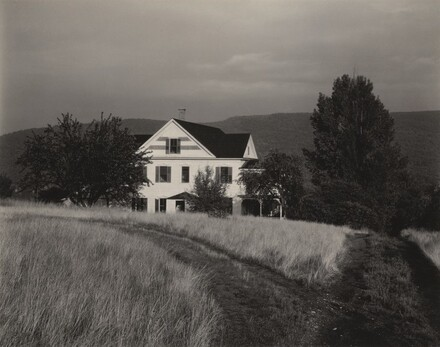 House and Trees, Lake George