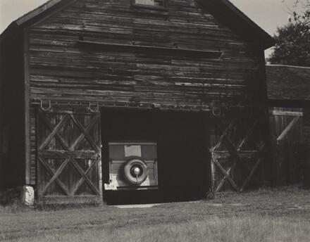 Barn and Car, Lake George