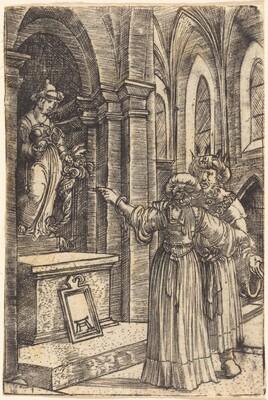 Solomon Praying to the Idols