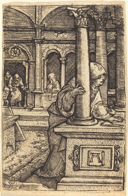 The Virgin Seeking Jesus in the Temple