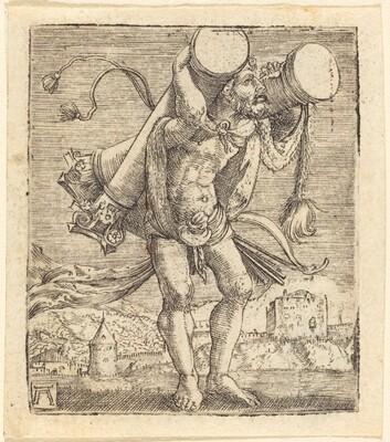 Hercules Bearing the Column of Gades