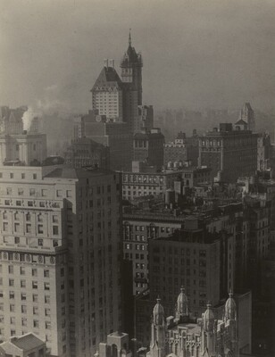 From Room 3003--(Looking Northwest)--Shelton Hotel, New York