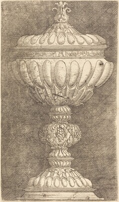 Goblet with Pomegranate on the Knob