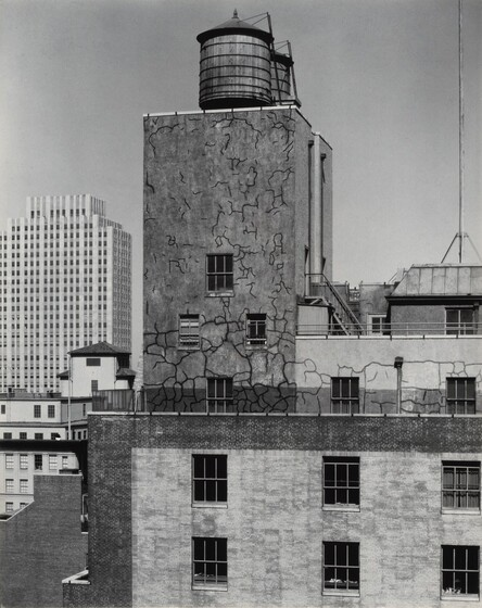 Water Tower and Radio City, New York