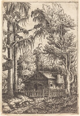 Landscape with View of a Farmer's Cottage