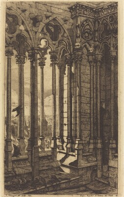 La galerie Notre-Dame, Paris (The Gallery of Notre Dame, Paris)