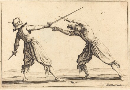 Duel with Swords and Daggers