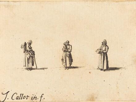 Three Women, One Holding a Child