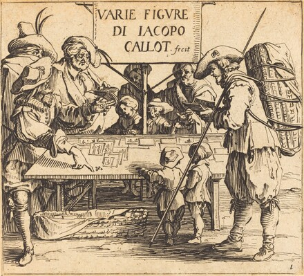 Frontispiece for Varie Figure