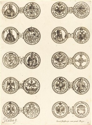 Coins [plate 6]