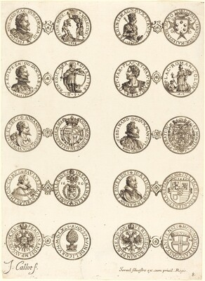 Coins [plate 8]