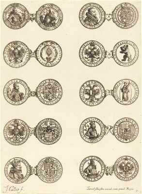 Coins [plate 9]