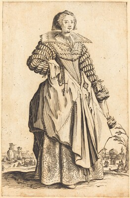 Noble Woman with Large Collar