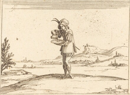 Man Washing a Pearl