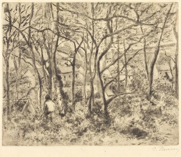 Wooded Landscape at L'Hermitage, Pontoise (Paysage sous bois, a L'Hermitage, Pontoise)