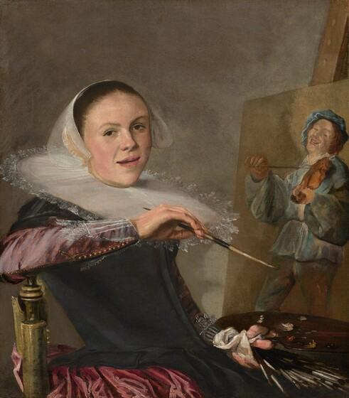 Judith Leyster, Self-Portrait, c. 1630
