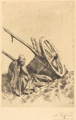 Broken Cart (La charette brisee)