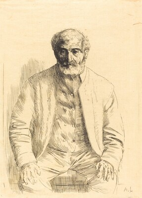 Old man seated (Vieillard assis)