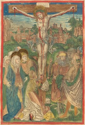 The Crucifixion with Saint Mary Magdalene