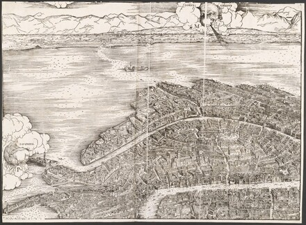 View of Venice [upper left block]