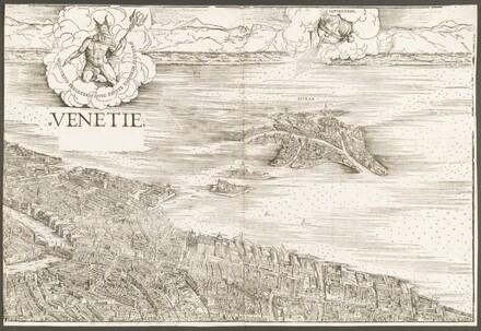 View of Venice [upper center block]