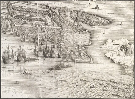 View of Venice [lower right block]