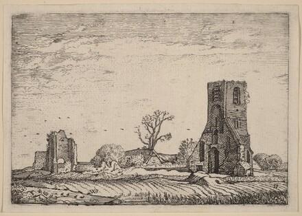 Ruins of a Church (Chapel of Eykenduynen near The Hague)