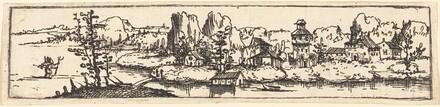 River Landscape with Saint Christopher