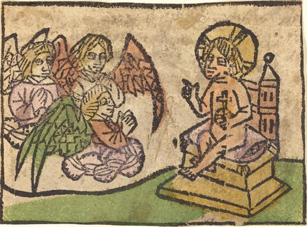 Christ Child with Three Angels