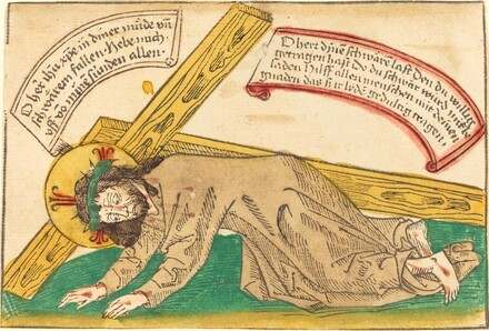 Christ Falling Under the Weight of the Cross