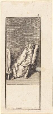Girl Sleeping on Settee