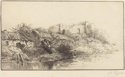 Abandoned Village (Le village abondonne)
