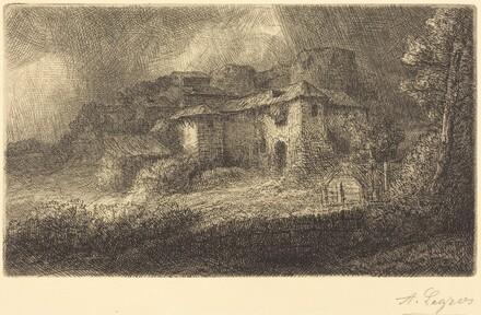 Ruins of a Chateau (Les ruines du chateau)