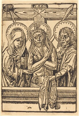 Christ between Maria and John