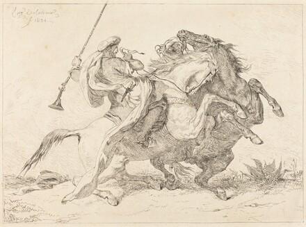 Encounter of the Moorish Horsemen (Rencontre de Cavaliers Maures)