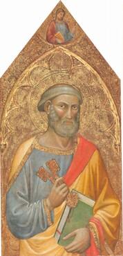 Saint Peter, with Saint James Major [left panel]